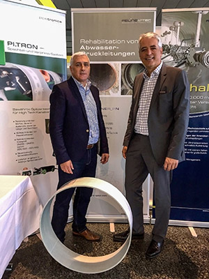 RELINEAPTEC - Product Manager Firmino Pires Barbosa and Managing Director Christian Noll