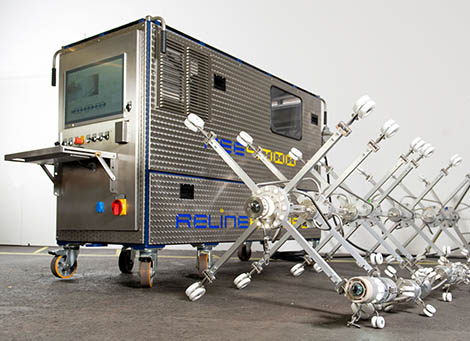 RELINE APTEC - UV curing systems and equipment for the rehabilitation of pressure pipes